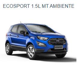 Ford EcoSport 1.5MT Ambiente 2018
