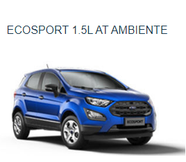 Ford Ecosprt 1.5 AT Ambiente 2018